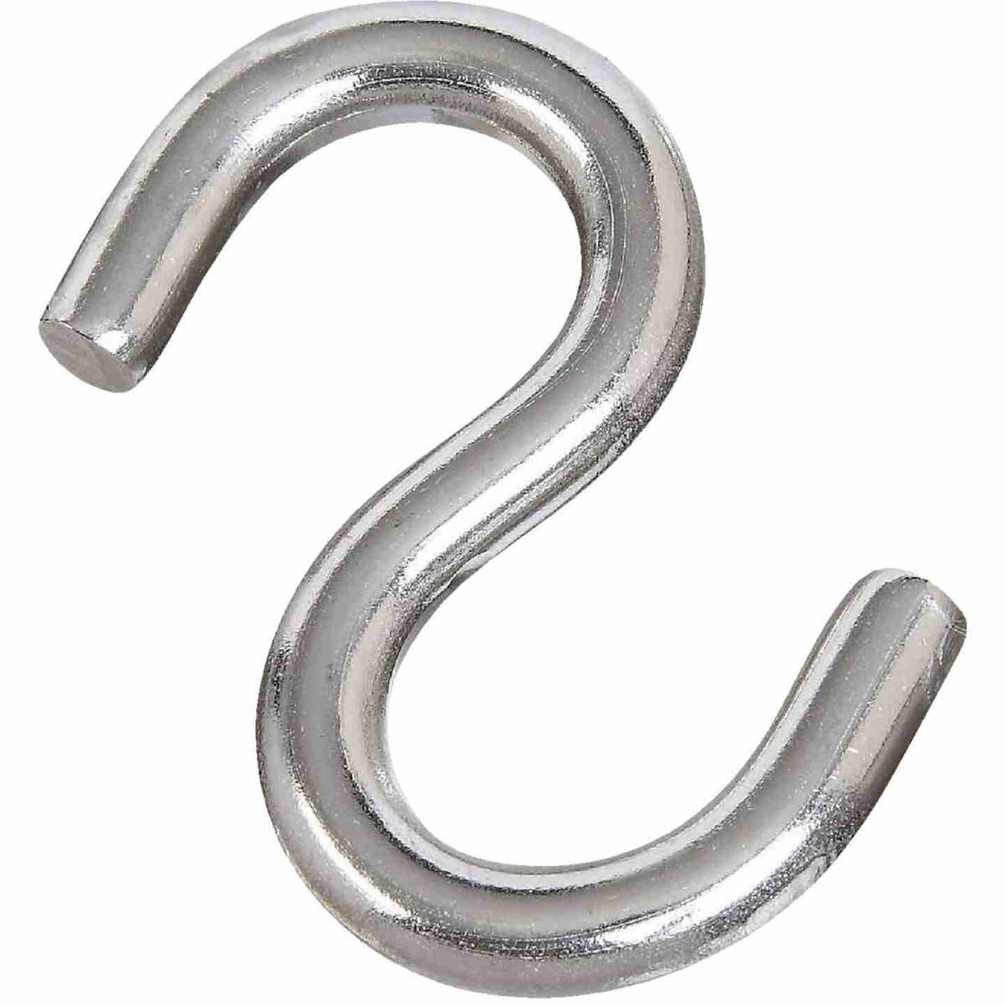 National 2-1/2 In. Stainless Steel Heavy Open S Hook Image 1