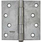 National 4 In. Square Plain Steel Broad Door Hinge Image 2