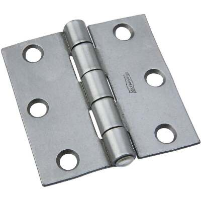 National 2-1/2 In. Steel Tight-Pin Broad Hinge