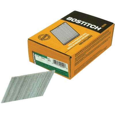Bostitch 15-Gauge Coated 25 Degree FN-Style Angled Finish Nail, 2-1/2 In. (3655 Ct.)