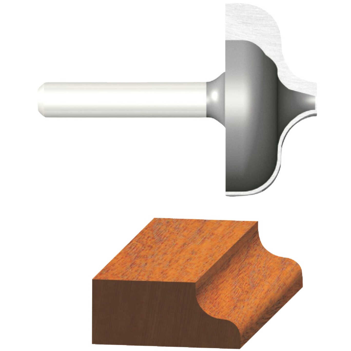 Vermont American Ogee Carbide Tip 1/4 In. Ogee Bit Image 1