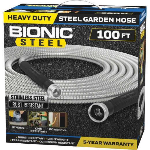 Bionic Steel 5/8 In. x 100 Ft. Stainless Steel Garden Hose