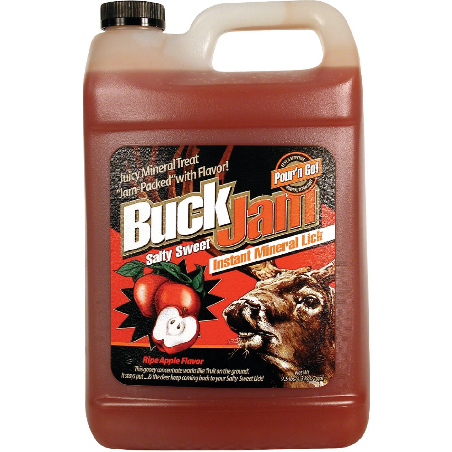 Buck Jam 1 Gal. Liquid Instant Mineral Lick Deer Attractant Image 1