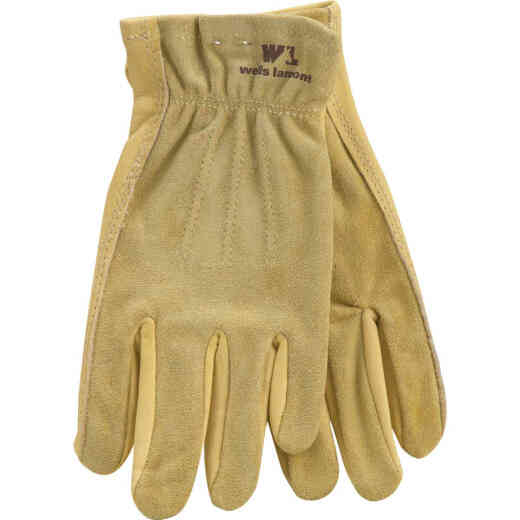 Wells Lamont Women's Medium Grain Cowhide Leather Work Glove