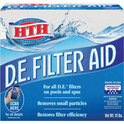 HTH 10 Lb. Granular D.E. Filter Aid